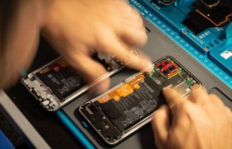 riparazione smartphone huawei
